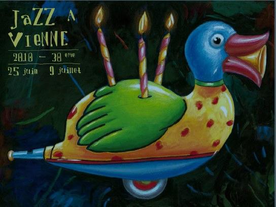Une édition toute en couleurs ! 30ème Festival Jazz à Vienne. Du 25 juin au 9 juillet 2010
