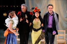 En décembre au théâtre Bel Image, La Courtisane Amoureuse, Ashes, La Dame de chez Maxim