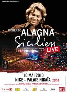 10 mai, Roberto Alagna en concert au Palais Nikaia de Nice