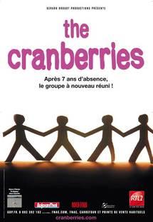 10 avril, The Cranberries en concert au Palais Nikaia de Nice