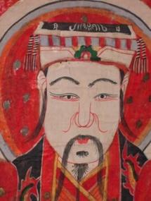 """12 décembre au 9 janvier, """" Les Chemises des Dieux """", 10 peintures sacrées Yao à la galerie Fert, Nyons (26)"""
