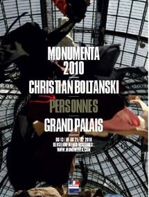 13 janvier au 21 février, Monumenta 2010, Christian Boltanski au Grand Palais