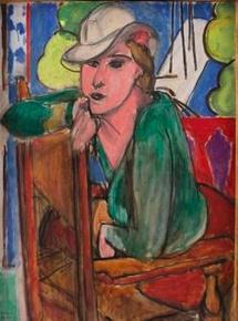 Henri Matisse, La Blouse verte, 21 mars 1936 Huile sur toile, 81 x 65 cm Statens Museum for kunst, Copenhague © Succession Henri Matisse, Paris