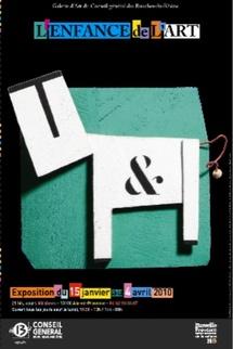 15 janvier au 4 avril. L'Enfance de l'art à la Galerie d'art du Conseil général, Aix-en-Provence