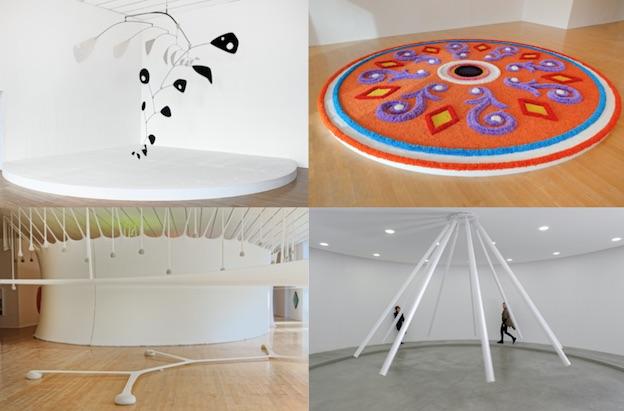 VOIGT Jorinde, The Shift I-VII, WV 2016-107 to 114 ; 2017, Courtesy de l'artiste, de la Biennale de Lyon 2017, Studio Jorinde Voigt, KÖNIG GALERIE ©Blaise Adilon ©Adagp