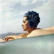 Sylvana Empain, Juan-les-Pins, août 1961 © Jacques Henri Lartigue