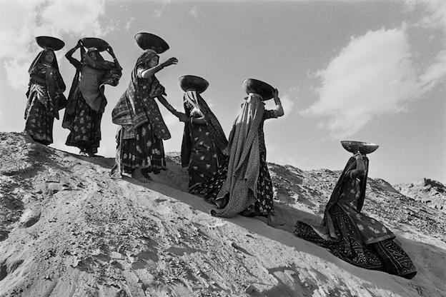 Rajasthan, Inde, 1990. © Sebastião Salgado, courtesy Polka Galerie