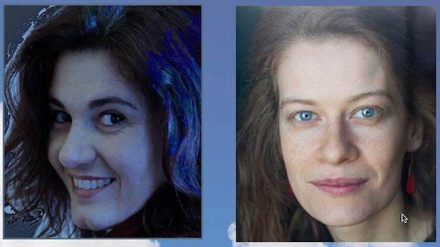 Isabelle Fallot (soprano) et Nathalie Morazin (pianiste et soprano)
