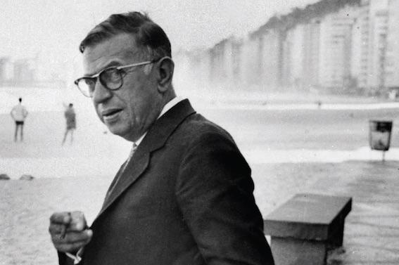 Jean-Paul Sartre © DR