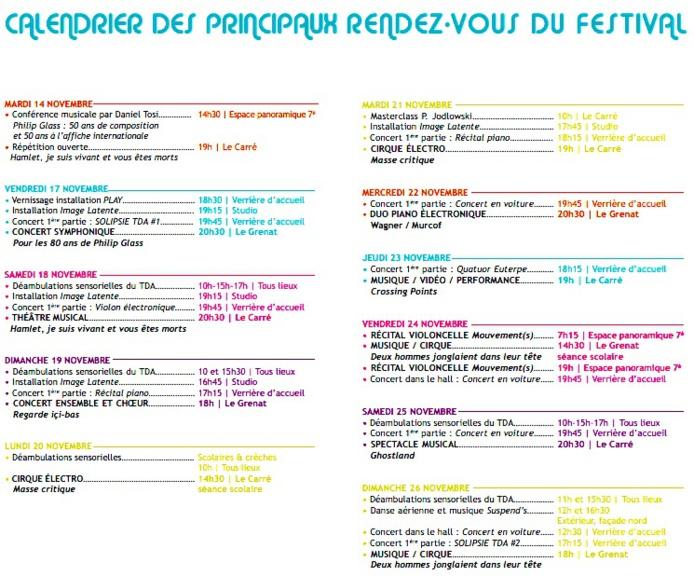 Perpignan. Festival Aujourd'hui Musiques du 14 au 26 novembre 2017