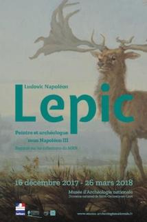 Ludovic Napoléon Lepic, peintre et archéologue sous Napoléon III. Regards sur les collections du musée d'Archéologie nationale du 17 décembre 2017 au 26 mars 2018
