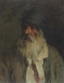 Le vieil arabe, 1894_Georges Gasté © Pierre de Sommyèvre
