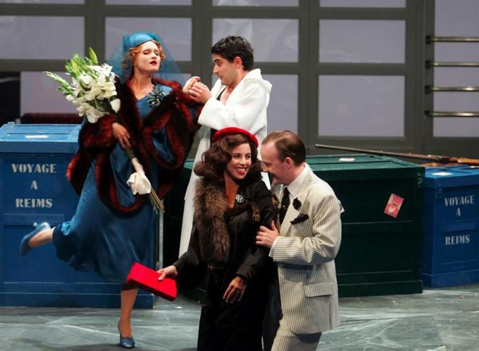 27, 29 et 31 janvier, Le voyage à Reims, de Gioacchino Rossini (1792-1872). Opéra en 1 acte à l'Opéra de Saint-Etienne