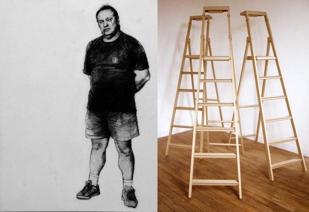 15 janvier au 27 février, exposition Belkacem Boudjellouli / Sylvie Réno à la galerie Sollertis, Toulouse