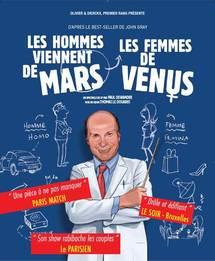 23 au 25 mars, Les hommes viennent de mars et les femmes de vénus au Palais de la Méditerranée, Nice
