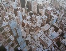 « Chicago » 2009 Huile sur toile 200 x 300 cm