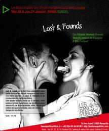 20 et 21 janvier, Lost & Founds, création chorégraphique aux Bancs Publics, Marseille