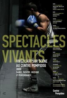 Janvier et février, Les Spectacles vivants du Centre Pompidou, Paris