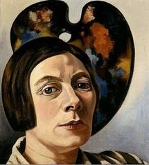Autoportrait devant la palette, 1934 Kröller-Müller Museum, Otterlo © ADAGP