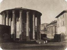 Giacomo Caneva, Rome, temple de Vesta © FratelliAlinari