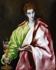 El Greco, San Juan Evangelista © Toledo, Museo del Greco