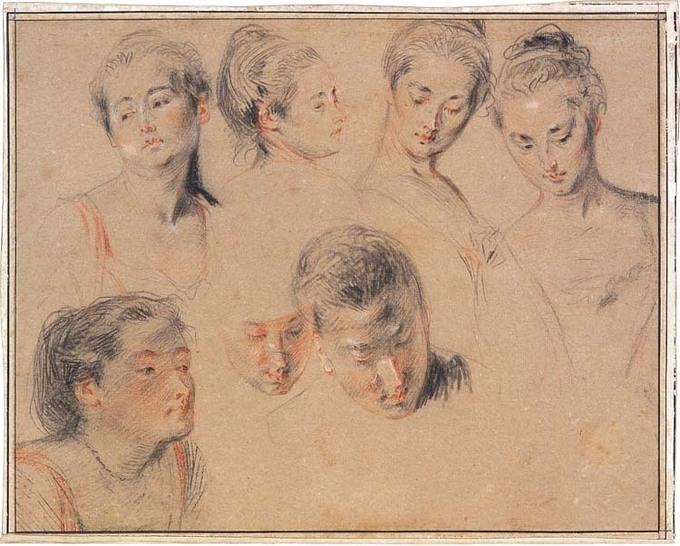 11 février au 11 avril. De Watteau à Degas. Dessins français de la Collection Frits Lugt à l'Institut néerlandais de Paris