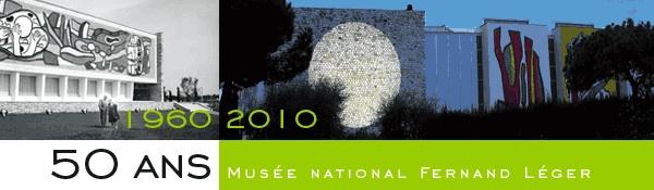 6 février au 17 mai. Hommage aux donateurs Nadia Khodossievitch-Léger et Georges Bauquier et  Michel Verjux au musée Fernand Léger à Biot