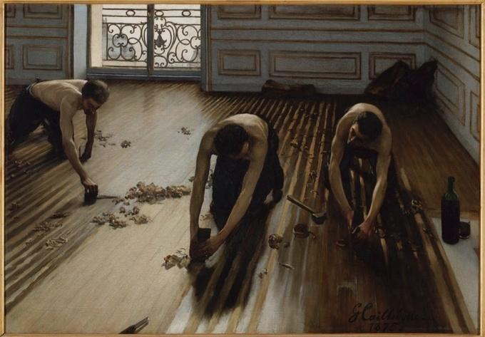 Gustave Caillebotte Raboteur de Parquet