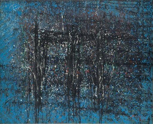 30 mars au 30 avril. Antonio Bandeira, l'abstraction lyrique française, Maison de l'Unesco, Paris