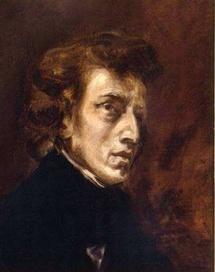 Eugène Delacroix Frédéric Chopin - 1838 © Roger-Viollet