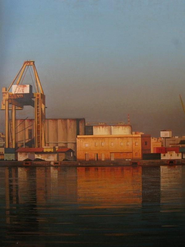Behi Shamiri. Catania 162x130 cm