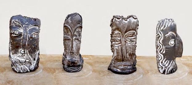 Untitled, 2017, ceramic - Courtesy Jasmine Little et Galerie Lefebvre & Fils