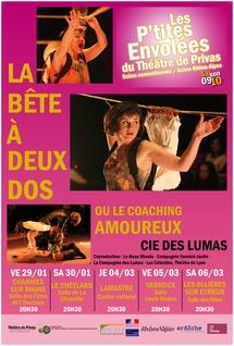 Mars 2010. La Bête à 2 dos, de Yannick Jaulin dans le cadre Les P'tites Envolées du théâtre de Privas, Ardèche