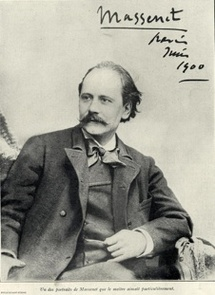 Jules Massenet. Portrait dédicacé © The Saint-Étienne Multimedia Library