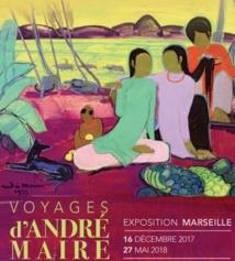 Voyages d'André Maire. Exposition au Musée Regards de Provence, à Marseille, du 16 décembre 2017 au 27 mai 2018