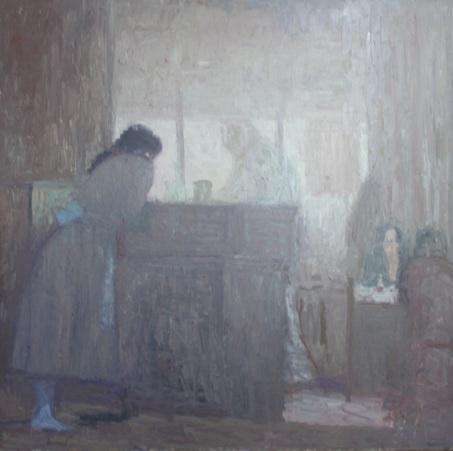 Truphémus, La belle servante, HST, 1980