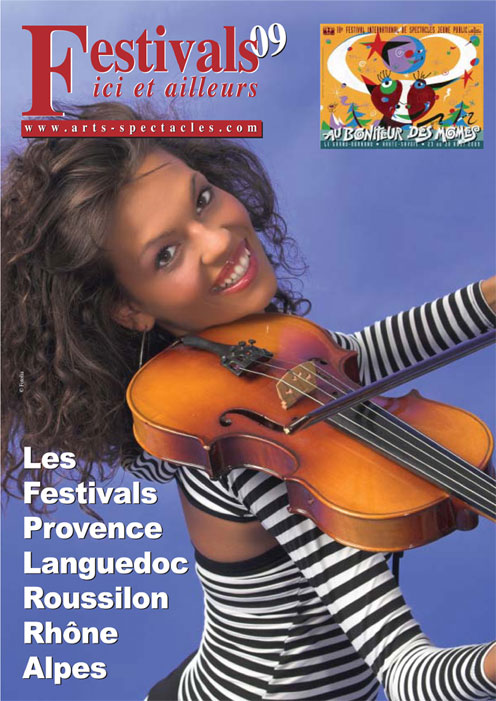 Votre espace publicitaire, dès 100 euros, dans Festivals ici et ailleurs 2010, un plus pour vos manifestations