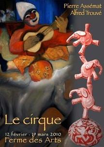 12 février au 19 mars 2010, expositions Pierre Assémat et Alfred Trouvé, à la Ferme des Arts, Vaison-la-Romaine