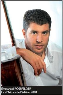 Emmanuel Rossfelder enregistre ce week-end à Laborie le CD du Maître et l'élève 2010