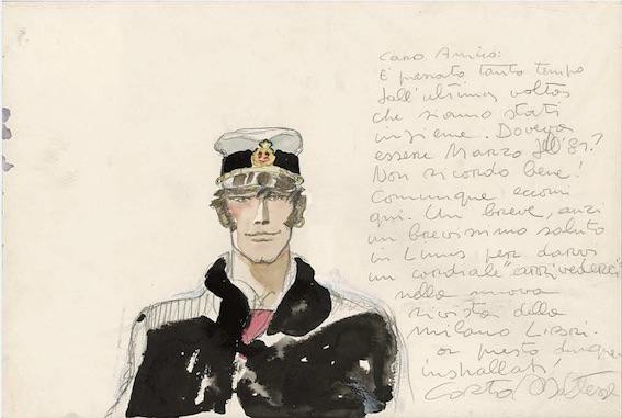 Corto Maltese – Portrait (1983) © Cong SA. Suisse. Tous droits réservés Affiche du film « Il Trono Nerpo » (Le Rois des Îles) de Byron Haskin avec Burt Lancaster (1954)