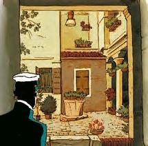 En compagnie de Corto Maltese, personnage emblématique de la bande