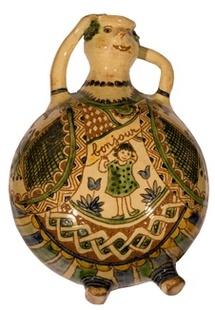 26 mars au 31 octobre 2010, exposition de poteries de Geneviève Von Fritschen à Saint-Quentin la Poterie, Gard
