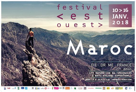 Festival Est-Ouest, à Die (Drôme) invite le Maroc pour sa 27e édition du 10 au 16 janvier 2018