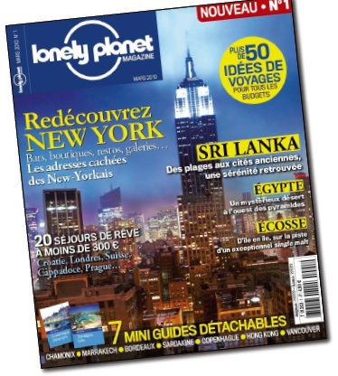Lonely Planet Magazine N°1. Après les guides, le magazine