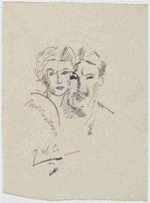 Fernand Léger, Jeanne et Fernand Léger, 1914, musée national Fernand Léger - Photo © RMN-Grand Palais