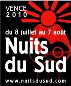 Appel à candidature pour le Jour du Sud & Les Artistes Le samedi 10 juillet 2010 à Vence