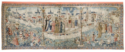 9 février au 15 mai, exposition de la tapisserie Le Siège de Dijon par les Suisses en 1513, à la Nef, Dijon