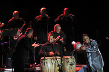 24 avril, Cabaret Salsa avec l'Orchestre Maraca & Orlando Valle à la Palestre,  Le Cannet