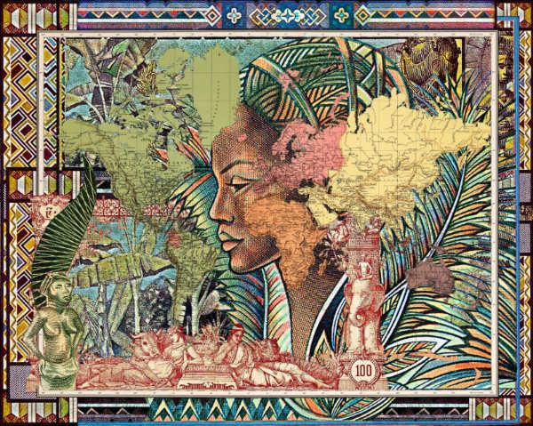 Malala Andrialavidrazana, Figures 1889, Planisferio, © Malala Andrialavidrazana