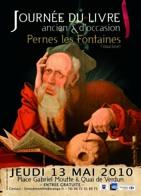 13 mai 2010, Journée du livre ancien et d'occasion à Pernes les Fontaines, Vaucluse